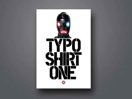 Llibre Typo Shirt, on surt un disseny de Cèl·lula